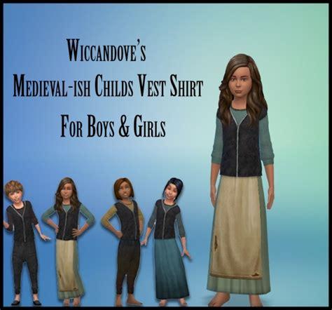 vest top  kids  wiccandove  simsworkshop sims