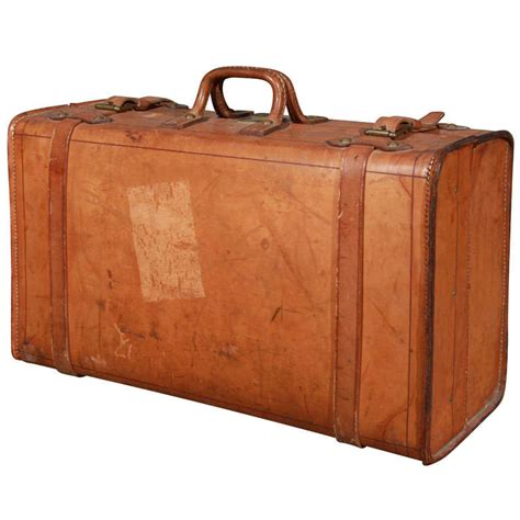 Modern Age Furniture by Wonderful Vintage Leather Suitcase