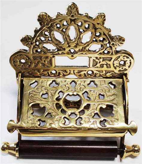 brass home decor home decor toilet paper holder antique solid brass
