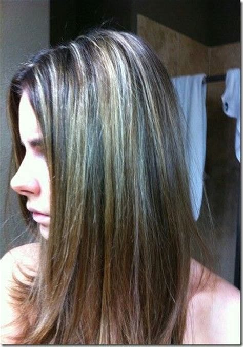 how to apply lowlights to gray hair 56 best images about grey hair on pinterest medium brown