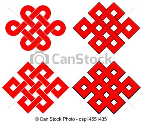 nudo wall protection endless knot isolated on white background vectors search