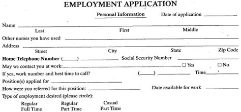 job application printable burger king application burger