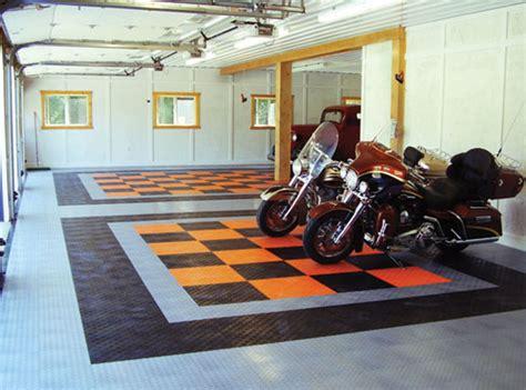Harley Davidson Parking Mat by Harley Davidson Garage Flooring Racedeck
