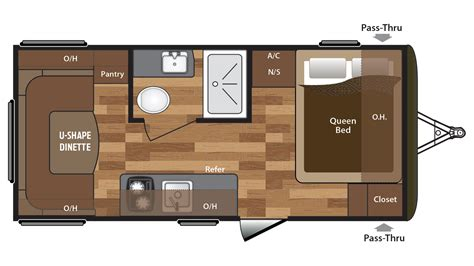 hideout rv floor plans hideout rv floor plans meze blog