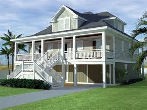low country house plan with 2629 square feet and 3