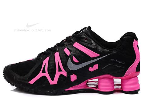 nike shox 2013 turbo womens black pink shoes outlet