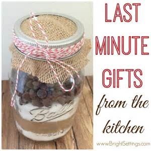 last minute gifts from the kitchen
