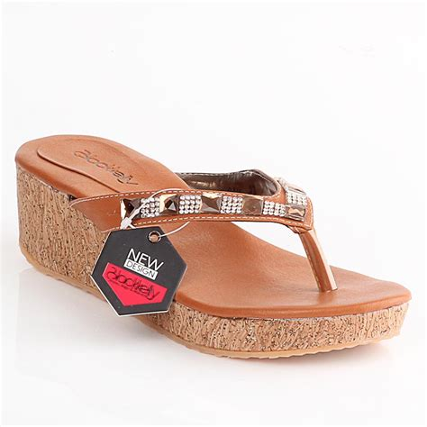 Sandal Wedges Wanita Blackkelly Original Lfz 530 reseller indonesia dropship indonesia reseller dan dropshiper