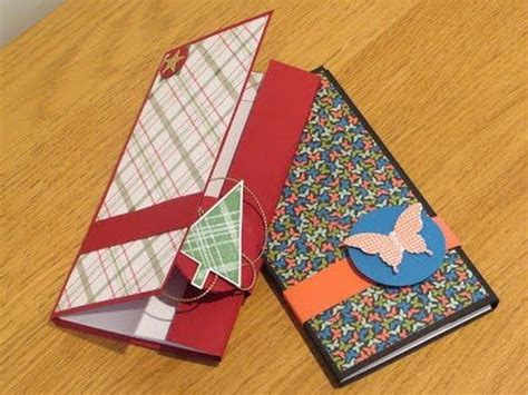 Handmade Notebook Tutorial - handmade magnetic closure pocket notebook tutorial
