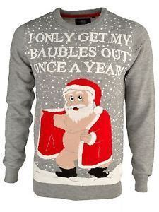 abba in christmas jumpers i only get out my baubles once a year rude jumper s jumpers