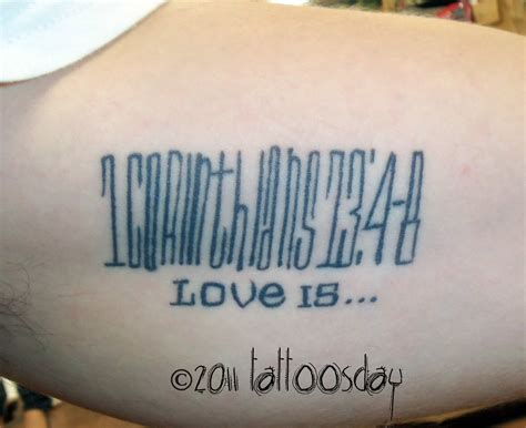 tattoo fonts bible verse bible verse from quot 1 corinthians 13 verses 4 8