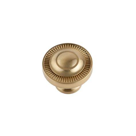 satin brass cabinet knobs sumner street home hardware minted 1 5 in satin brass