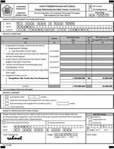 pph pasal 4 download form pph pasal 4 ayat 2 download espt pph contoh penghitungan pajak atas pengalihan hak atas tanah