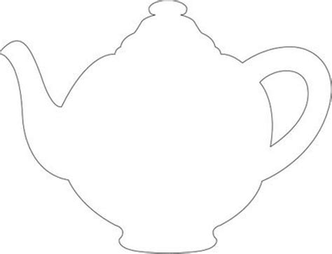teapot card template teapot template printable cake ideas and designs