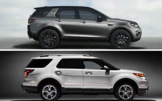 Ford Range Rover Land Rover Discovery Sport Vs Ford Explorer The