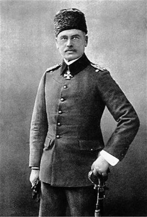 Ottoman General German General Otto Liman Sanders Appointed Inspector General Of The Ottoman Army
