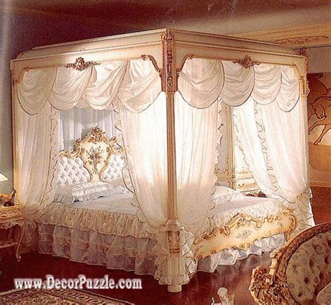 luxury canopy bed curtains top 20 luxury classic curtains and drapes designs 2018