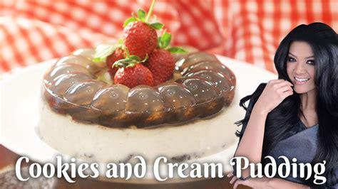 cara membuat donat farah quinn resep puding cookies cream farah quinn youtube