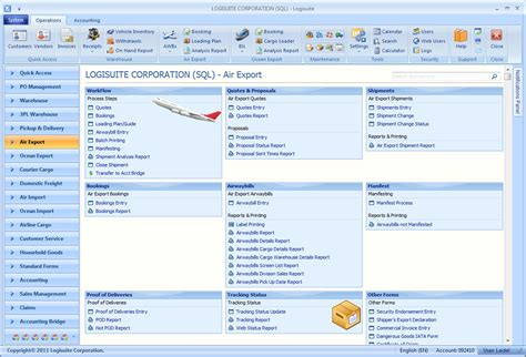 air waybill software cargo events notification software logistics