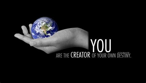 A Of Your Own you are the creator of your own destiny by kruxyk on