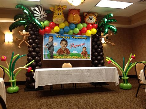 Jungle Theme Baby Shower Balloons by Jungle Theme Balloons Darshana S Baby Shower