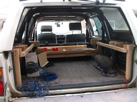 Outback Campers Floor Plans 1st gen 4runner lockable cargo area yotatech forums