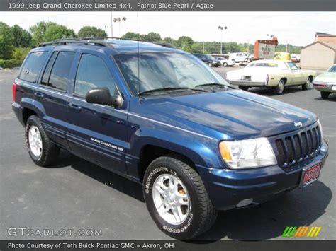 1999 jeep grand limited interior patriot blue pearl 1999 jeep grand limited 4x4