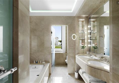 The Delectable Hotel Du Cap Eden Rock Bathroom Design Photos