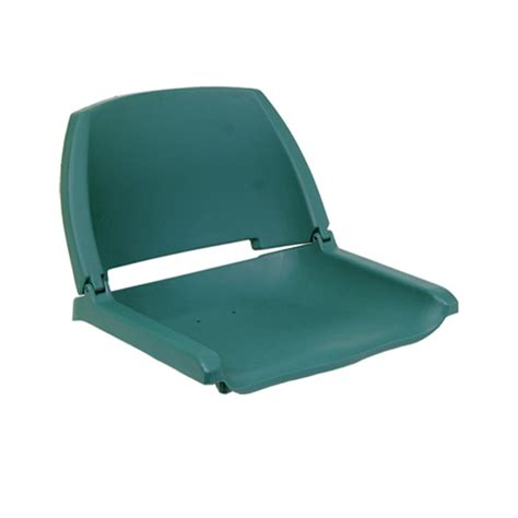 green folding boat seat action copolymer folding boat seat 95972 fold down