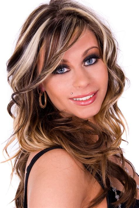frosted hair highlights for dark hair frosted hair 10 ways to make this look work for you