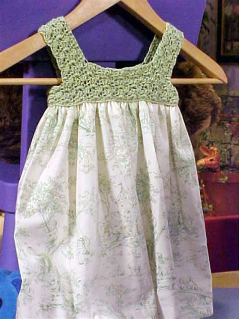 crochet  childs dress hgtv