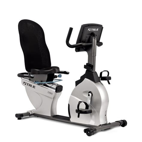 reclining exercise bike true es900 recumbent bike