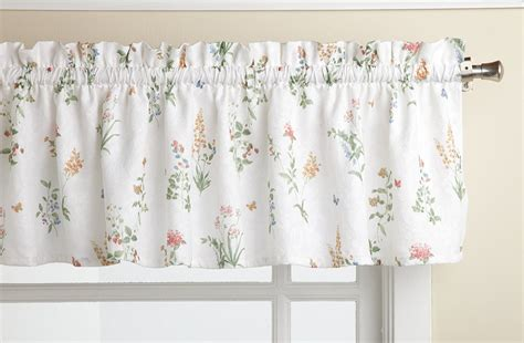 english garden curtains lorraine home fashions english garden 55 inch x 12 inch