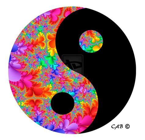 colorful yin yang yin yang search paintings trippy
