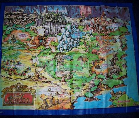 teddy ruxpin grundo map teddy ruxpin accessories pg 2