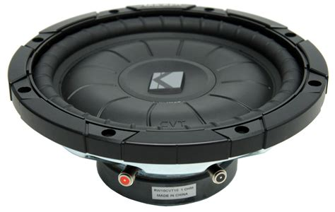 Speaker Subwoofer Kicker kicker rw10cvt10 car audio cvt 10 quot sub 800 watts peak dual