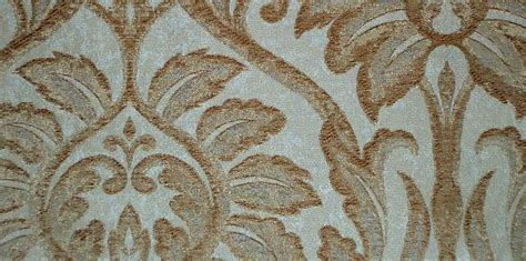 Striped Drapery Fabric Fabric Store Remnant Silk Drapery Upholstery Damask Brown
