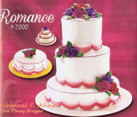 Wedding Cake Goldilocks wedding cakes from goldilocks before the eastern sunset