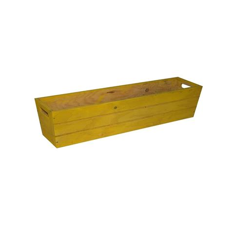 home depot wooden planters real wood 26 in dia cedar half whiskey barrel planter g3056 the home depot