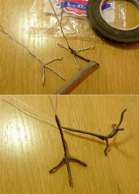 How To Make A Paper Foot - 羊毛フェルトの鳥 パーツ 足の作り方 その他芸術 アート design koubou kekosu 2