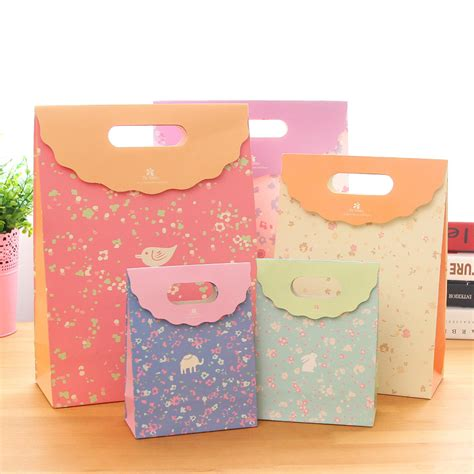 Backpack Lucu 9 bags of paper bag gift wrap for birthday tab top gift bags idea for