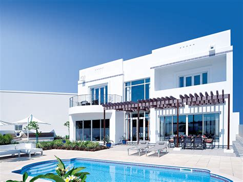 House Plans Country the wave muscat development draws tourists and property