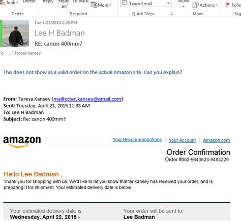 Fake Amazon Gift Card Email - the curious case of bogus amazon sellers wirednot
