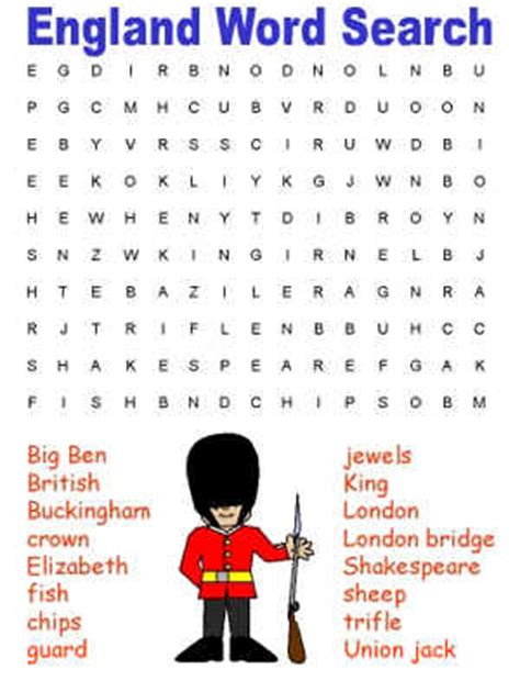 printable word puzzles uk england word search puzzles