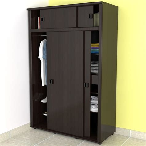 modern armoires armoire in espresso wenge finish modern armoires and wardrobes