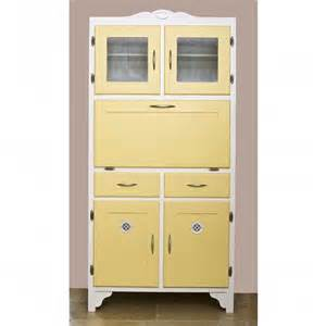 Vintage Kitchen Cabinet Yellow Retro Kitchen Cupboard Kitchen Style