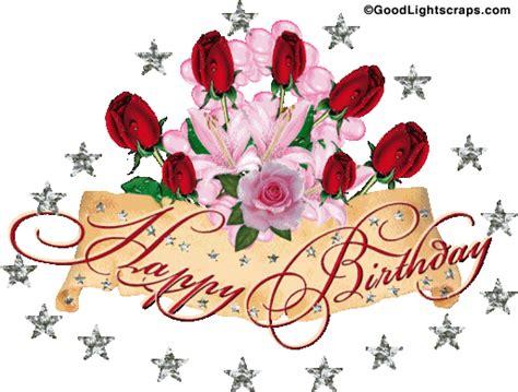 Happy Birthday Wishes Animation Happy Birthday Glitter Animated Birthday Orkut Scraps