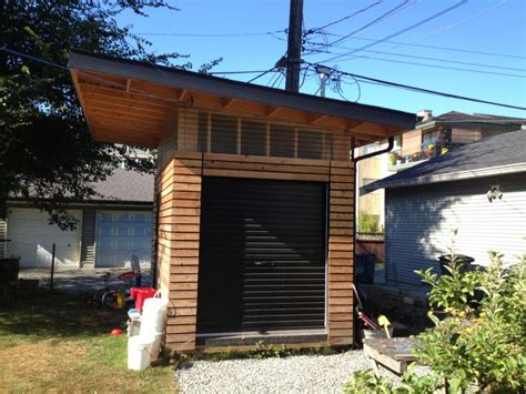 Cool Shed by Cool Shed 1 East Vancouver Shed Westcoast Outbuildings