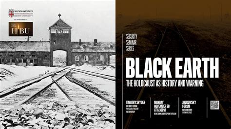 black earth the holocaust 1784701483 timothy snyder black earth the holocaust as history and warning youtube