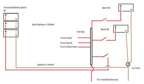 three battery boat wiring diagram get free image about